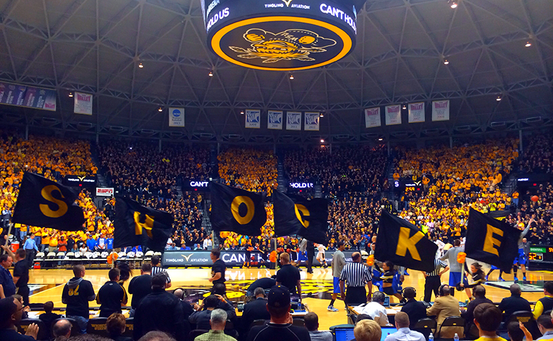 wichita state university shockers koch arena