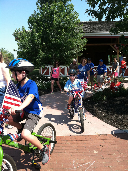 Independence Day celebration at Deanna Rose Children's Farmstead in Overland Park, Kan. (photo courtesy visitoverlandpark.com)