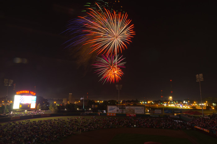 Fourth of July Springfield Missouri Hammons Field