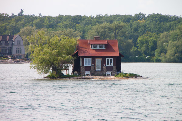 #schummer14 1000 Islands small house