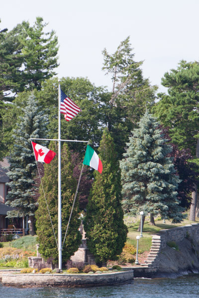 #schummer14 1000 Islands span U.S. and Canada