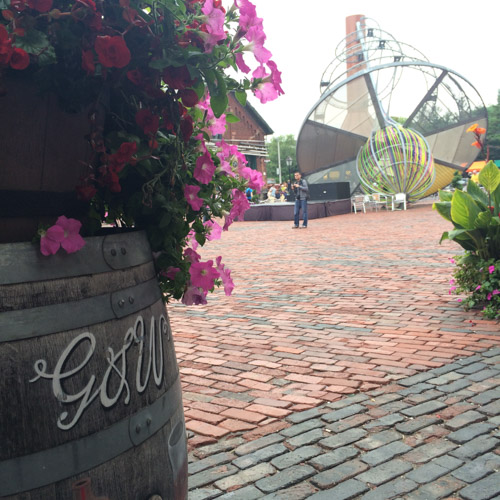 #schummer14 Toronto Distillery District