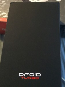 Verizon Droid Turbo box #vzreview