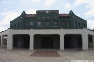 Rickwood Field in Birmingham, Alabama